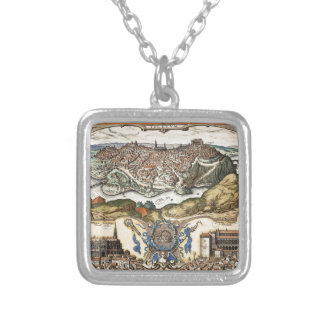toledo1566 silver plated necklace