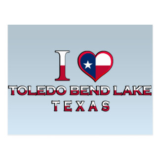 Toledo Bend Lake, Texas Postcard
