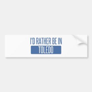 Toledo Bumper Sticker