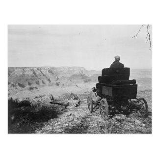 Toledo Car At The Grand Canyon Postcard