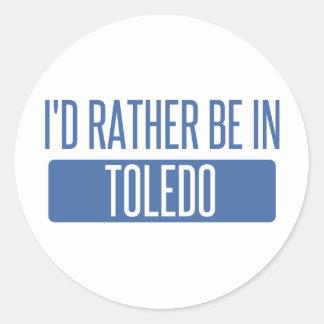 Toledo Classic Round Sticker