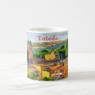 Toledo. Gate of Puerta de Bisagra Nueva. Coffee Mug