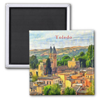 Toledo. Gate of Puerta de Bisagra Nueva. Magnet