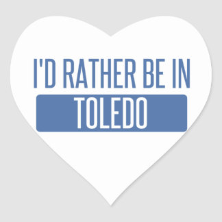 Toledo Heart Sticker