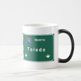 Toledo Ohio oh Interstate Highway Freeway : Magic Mug