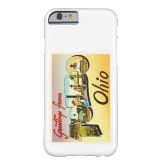 Toledo Ohio OH Old Vintage Travel Souvenir Barely There iPhone 6 Case