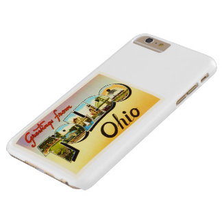 Toledo Ohio OH Old Vintage Travel Souvenir Barely There iPhone 6 Plus Case