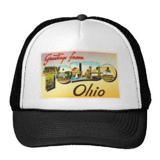 Toledo Ohio OH Old Vintage Travel Souvenir Trucker Hat