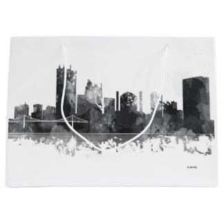 TOLEDO OHIO SKYLINE LARGE GIFT BAG