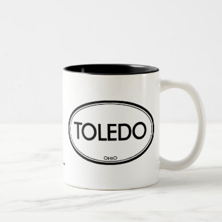 Toledo, Ohio Two-Tone Coffee Mug