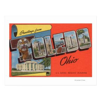 Toledo, Ohio - U.S. Naval Reserve Building Postcard