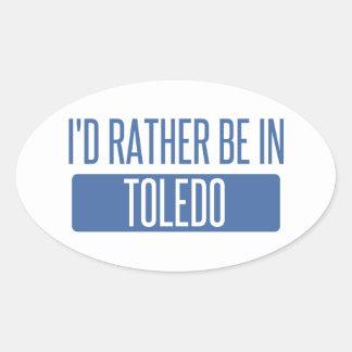 Toledo Oval Sticker