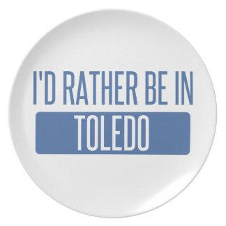 Toledo Plate