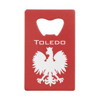 Toledo Polish Eagle Bottle Opener Wallet Bottle Opener