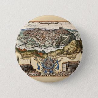 Toledo Spain 1566 2 Inch Round Button