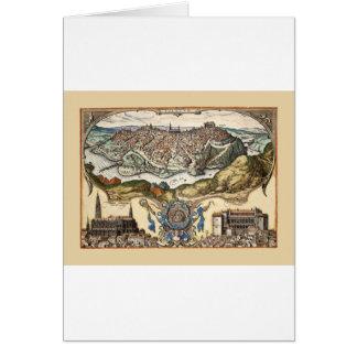 Toledo Spain 1566 Card