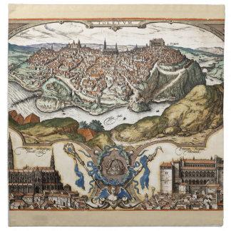 Toledo Spain 1566 Napkin