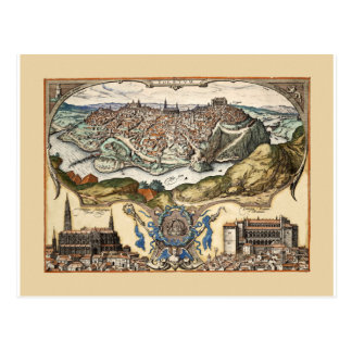 Toledo Spain 1566 Postcard