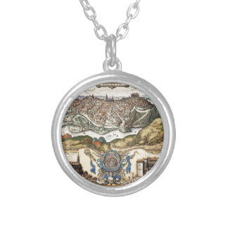 Toledo Spain 1566 Silver Plated Necklace
