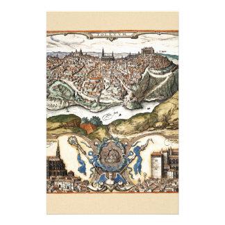 Toledo Spain 1566 Stationery