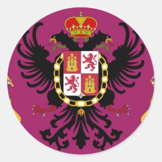 Toledo (Spain) Classic Round Sticker
