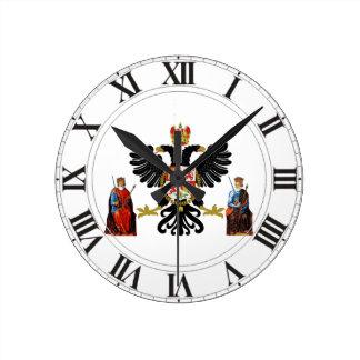 Toledo (Spain) Coat of Arms Round Clock