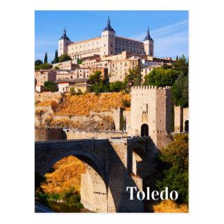 Toledo Spain postcard 2