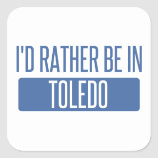 Toledo Square Sticker