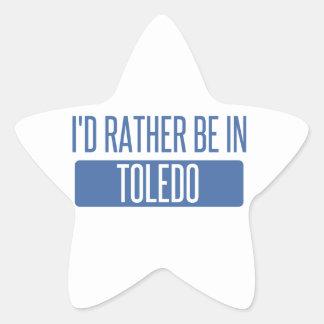 Toledo Star Sticker