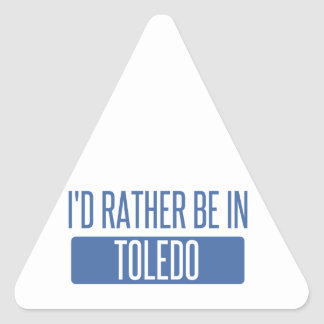 Toledo Triangle Sticker