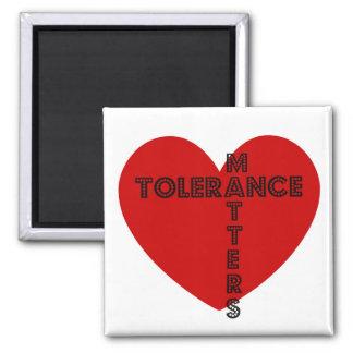 Tolerance Matters Magnet
