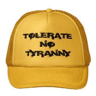 Tolerate No Tyranny Yellow Hat