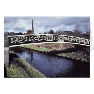 Toll End Works bridge, Netherton Card