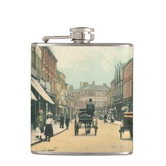 Toll Gavel, Beverley (1900) Hip Flask