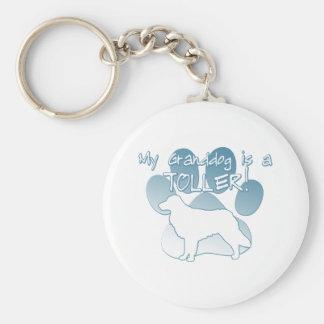 Toller Granddog Keychain