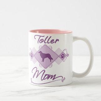 Toller Mom Two-Tone Coffee Mug