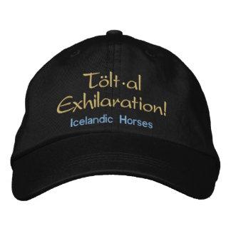 Tolt * al Exhilaration Icelandic Horses Embroidered Hats