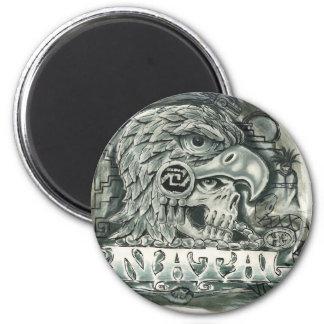Toltec Spirit 2 Inch Round Magnet
