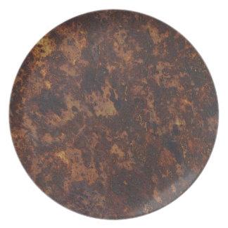 Toltec Texture Organic Designer Plate
