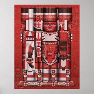 Toltec Warriors Poster
