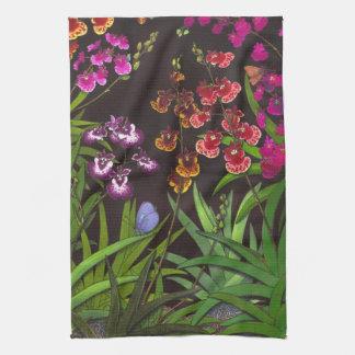 Tolumnia Equitant Oncidium Orchids Kitchen Towel