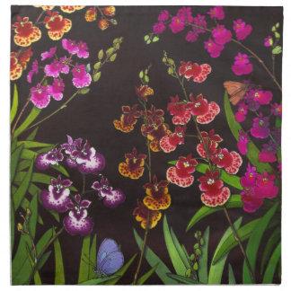 Tolumnia Equitant Oncidium Orchids Napkin