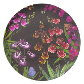 Tolumnia Equitant Oncidium Orchids Plate