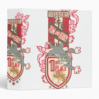 Tom and Jerry 1st Place 1 3 Ring Binder