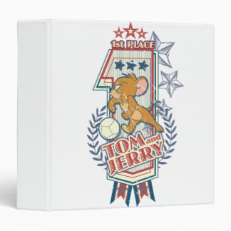 Tom and Jerry 1st Place 2 3 Ring Binder