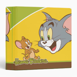 Tom And Jerry 3 Ring Binders
