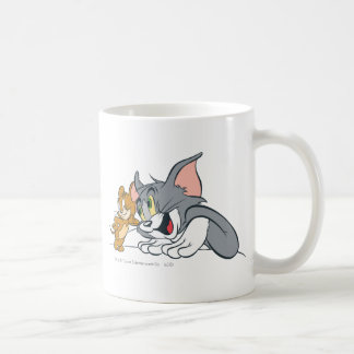 Tom and Jerry Best Buds Classic White Coffee Mug