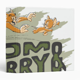 Tom and Jerry Chase Logo Binders