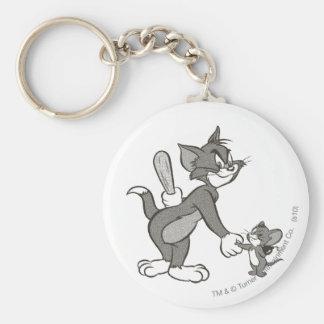 Tom And Jerry Deceitful Handshake Keychain