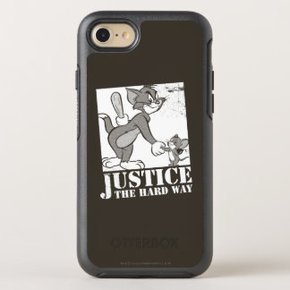 Tom And Jerry Justice the Hard Way OtterBox Symmetry iPhone 8/7 Case